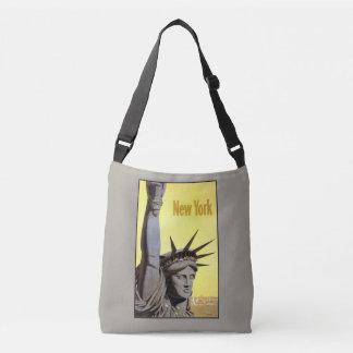ヴィンテージ旅行ニューヨーク米国のバッグ クロスボディバッグ