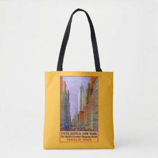 ヴィンテージ旅行ニューヨーク米国のバッグ トートバッグ