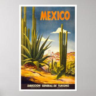 ヴィンテージ旅行ポスターメキシコ2 ポスター