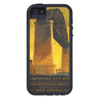 ヴィンテージ旅行ポスター堅いXtremeのiPhone 5の場合 iPhone SE/5/5s ケース