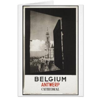 ヴィンテージ旅行ポスター広告のレトロのプリント カード