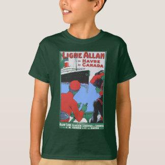 ヴィンテージ旅行ポスター: アランライングラスゴーロンドン Tシャツ