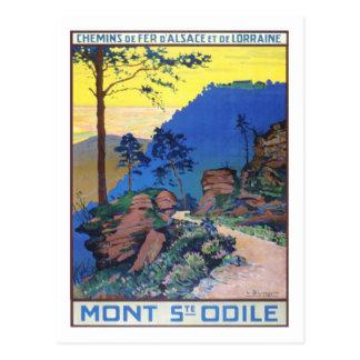 ヴィンテージ旅行ポスター、フランス ポストカード