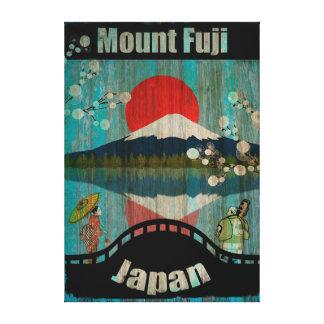 ヴィンテージ旅行ポスター-日本 キャンバスプリント