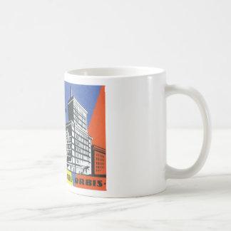ヴィンテージ旅行ヨーロッパ、ワルシャワ、ポーランド コーヒーマグカップ