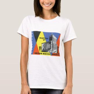 ヴィンテージ旅行ヨーロッパ、ワルシャワ、ポーランド Tシャツ