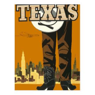 ヴィンテージ旅行郵便はがきテキサス州米国 ポストカード