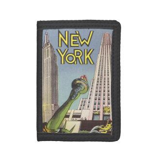 ヴィンテージ旅行、ニューヨークシティの有名な陸標