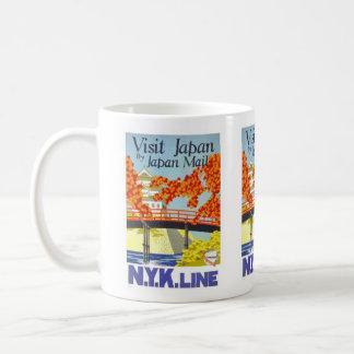 ヴィンテージ旅行、日本 コーヒーマグカップ