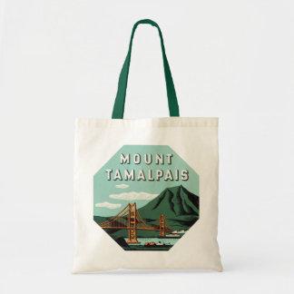 ヴィンテージ旅行、Tamalpais山または山Tam トートバッグ