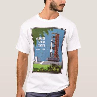 ヴィンテージ旅行NASAケネディ宇宙センターの芸術 Tシャツ
