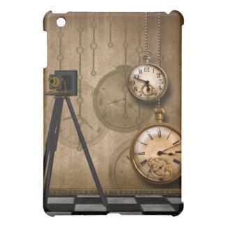 ヴィンテージ旧式な壊中時計のSpeckのiPadの場合 iPad Miniケース