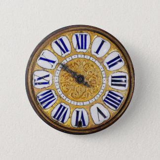ヴィンテージ時計の旧式な壊中時計 5.7CM 丸型バッジ