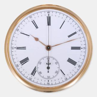 ヴィンテージ時計の旧式な腕時計 ラウンドシール