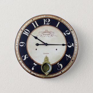 ヴィンテージ時計の腕時計 5.7CM 丸型バッジ