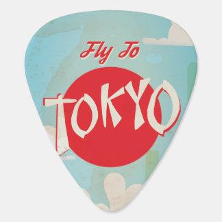 ヴィンテージ東京、日本旅行ポスター ギターピック
