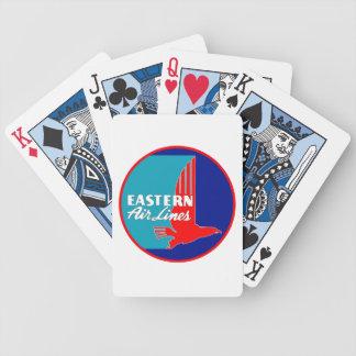 ヴィンテージ東航空会社のカジノカード バイスクルトランプ