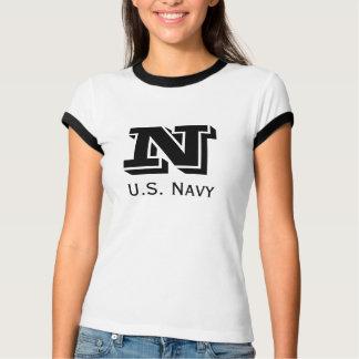 ヴィンテージ海軍Bootcampの国内基本的なティー Tシャツ
