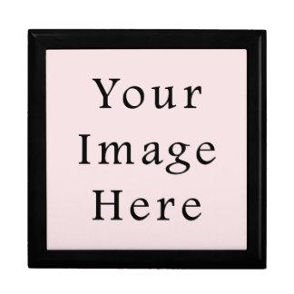 ヴィンテージ淡いピンクの色の傾向のブランクのテンプレート ギフトボックス