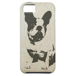 ヴィンテージ犬のiPhone 5/5sの場合 iPhone 5 タフケース