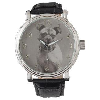 ヴィンテージ犬 腕時計
