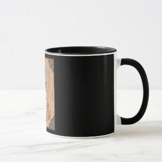"""""""ヴィンテージ男""""の11のOz。 人のためのコーヒー・マグ マグカップ"""