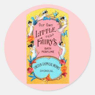 ヴィンテージ私達の自身の小さい妖精のBathの香水 ラウンドシール