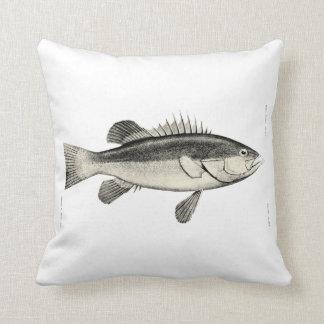 ヴィンテージ科学NZの魚- Hapuku クッション