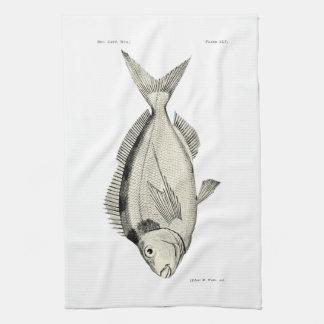 ヴィンテージ科学NZの魚- Tarakihi キッチンタオル