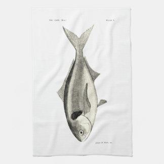 ヴィンテージ科学NZの魚- Warehou キッチンタオル