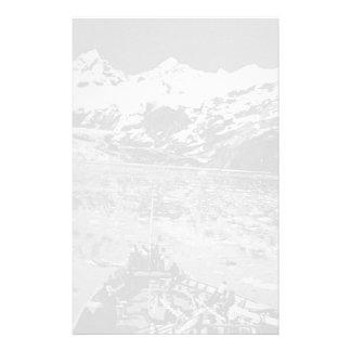 ヴィンテージ米国アラスカのグレーシャー入江の国有記念物 便箋