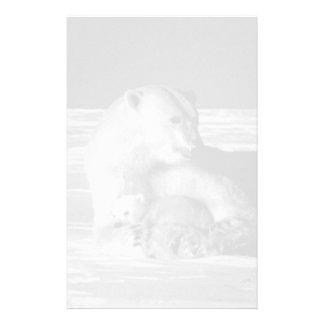 ヴィンテージ米国アラスカの母白くま1970年 便箋