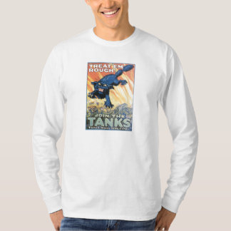 ヴィンテージ米国タンク隊の募集ポスター Tシャツ