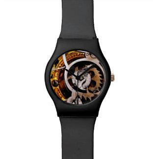 ヴィンテージ腕時計は蒸気のパンクのSteampunk機械を連動させます 腕時計