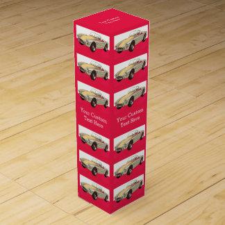 ヴィンテージ車のカスタムなワイン箱 ワインギフトボックス