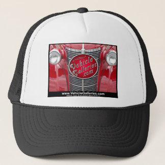 ヴィンテージ車のグリルのVehicleGalleries.comのロゴ キャップ