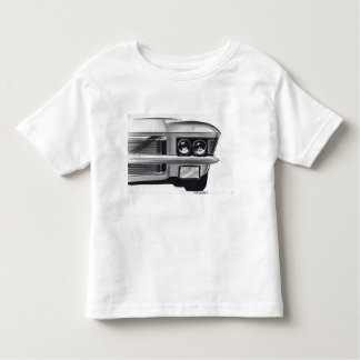 ヴィンテージ車のスケッチ(49)リビエラ7 トドラーTシャツ