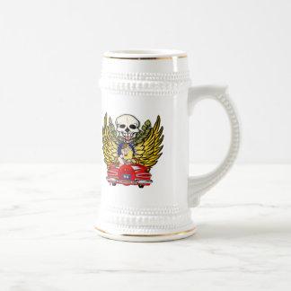 ヴィンテージ車の第80誕生日プレゼント ビールジョッキ