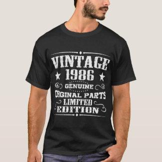 ヴィンテージ限られる1986の本物の元の部 Tシャツ