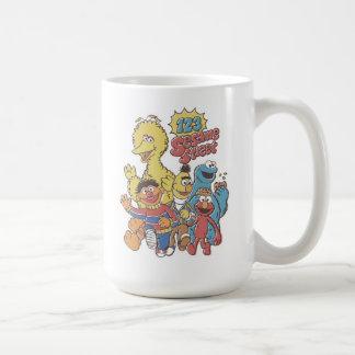 ヴィンテージ123のセサミストリート コーヒーマグカップ