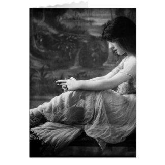 ヴィンテージ1913年のエヴァリンNesbit カード
