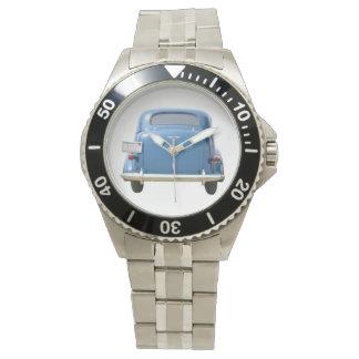 ヴィンテージ1940の青のChevyの腕時計 腕時計