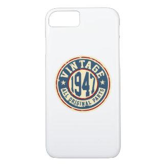ヴィンテージ1947のすべてのオリジナルの部品 iPhone 7ケース