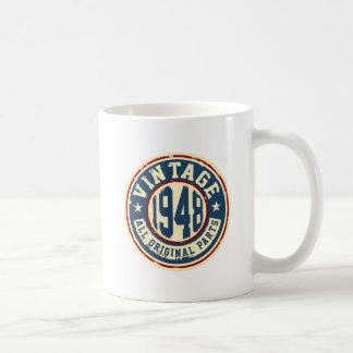 ヴィンテージ1948のすべてのオリジナルの部品 コーヒーマグカップ