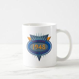 ヴィンテージ1948年 コーヒーマグカップ