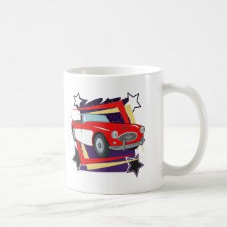 ヴィンテージ1957年のコルベット コーヒーマグカップ