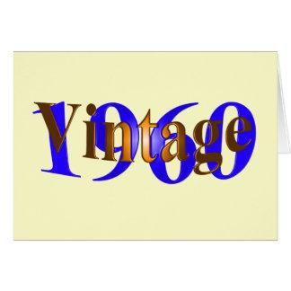 ヴィンテージ1960年 カード