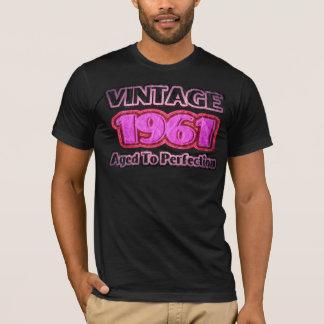 ヴィンテージ1961年-完全さに老化させる Tシャツ