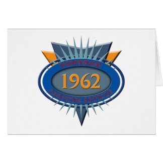 ヴィンテージ1962年 カード