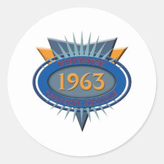 ヴィンテージ1963年 ラウンドシール